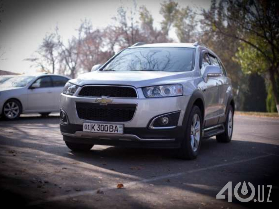 Chevrolet Uz Captiva I Рестайлинг