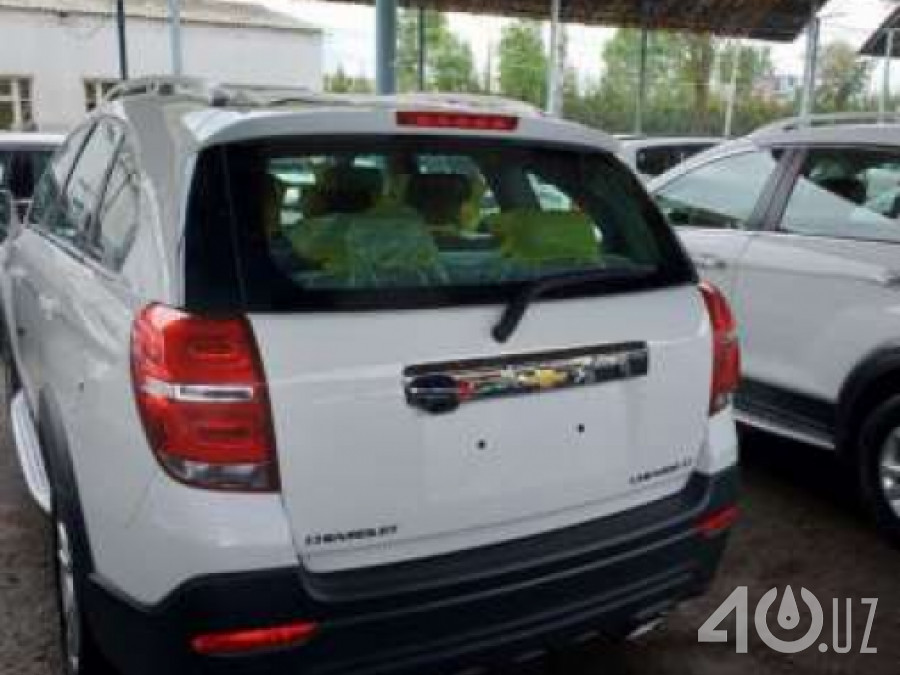 Chevrolet Uz Captiva I Рестайлинг 2